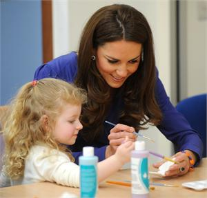 East Anglia Children Hospital bracelet worn by HRH Duchess of Cambridge