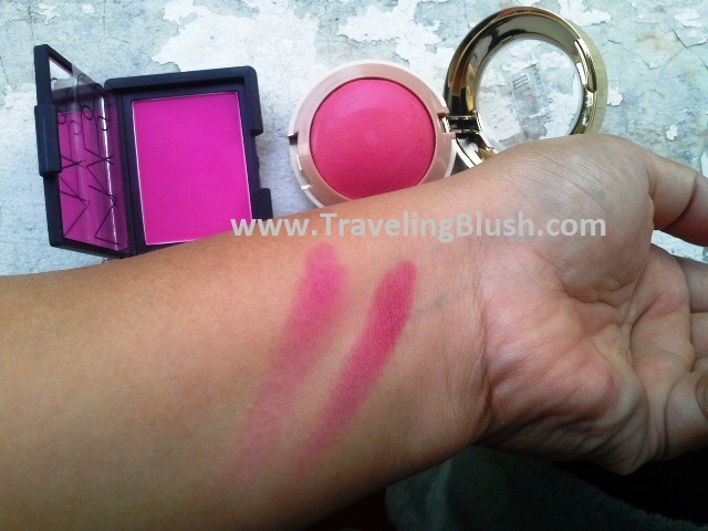 Nars Coeur Battant (left) and Milani Bella Rosa